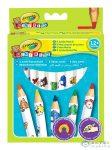 Crayola Mini Kids: 8 Db Vastag Natúr Színes Ceruza (Crayola, 3678)