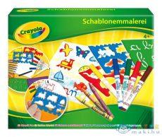 Crayola: Sablon Készlet (Crayola, 5310)