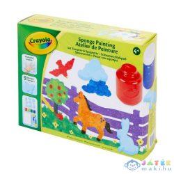 Crayola: Szivacsfestő Készlet (MH, 04-0572)