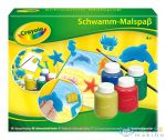 Crayola: Szivacsfestő Készlet 4 Tégely (Crayola, m-5314)