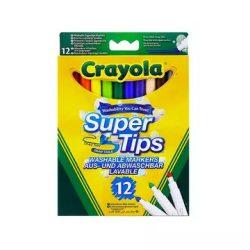 Crayola: Vastag Hegyű Lemosható Filctoll (Crayola, 7509)