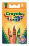 Crayola: Viaszkréta - 8 Db (Crayola, 8)