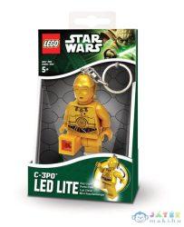 Lego Star Wars Világító Kulcstartó - C-3Po (Lego, m-LGL-KE18)
