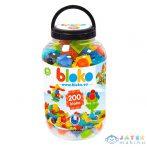 Bloko: Tüskés Építőjáték 200 Darabos Készlet Műanyag Flakonban (Mochtoys, 11635)