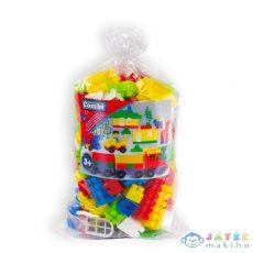 Combi Blocks: 100 Darab Műanyag Építőkocka Zsákban (Mochtoys, 102)