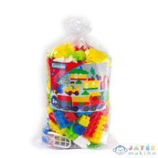 Combi Blocks: 150 Darabos Műanyag Építőkocka Zsákban (Mochtoys, 117)