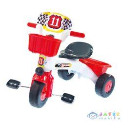 Speedy Piros Színű Tricikli Dudával (Mochtoys, 5443M)