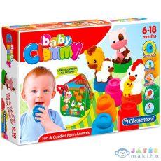 Clemmy Baby: Mókás Farmállatkák (Clementoni, 17174)