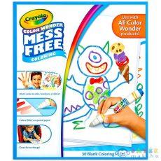 Crayola Color Wonder: Maszatmentes Kifestőlap Utántöltő (Crayola, 75-2479)