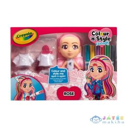 Crayola: Colour N Style Dolls Deluxe - Rose (Modell-Hobby, 918941.005)