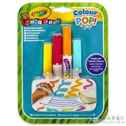 Crayola: Colour Pop! Irka-Firka Szőnyeg Utántöltő Filctoll (Crayola, 81-2007)