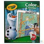 Crayola Jégvarázs: Színező És Matricázó Füzet (Modell-Hobby, N0251)