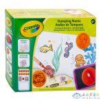 Crayola: Nyomda Mánia Színező Készlet (Modell-Hobby, 04-0574)