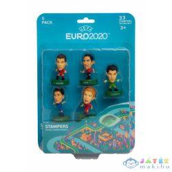 Euro 2020: Sztárfocisták 5 Db-os Meglepetés Nyomda Csomag (Modell-Hobby, EUR5040)
