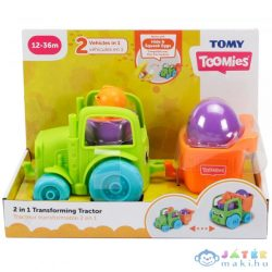 Toomies: 2 Az 1-Ben Átalakítható Traktor - Zöld (Modell-Hobby, E73219C)