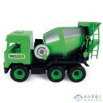 Wader: Middle Truck Betonkeverő, 38 Cm - Zöld (Modell-Hobby, 32104)