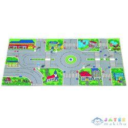 Molto: Városi Játszószőnyeg Közlekedési Táblákkal 124X60Cm (Molto, 5551)
