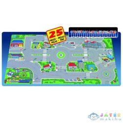 Molto: Városi Játszószőnyeg Közlekedési Táblákkal 158X90Cm (Molto, 5540)
