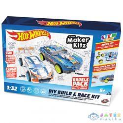 Hot Wheels Kitz Twin Pack Összeépíthető, Hátrahúzós Kisautók 1/32 - Mondo Motors (Mondo, 51194)