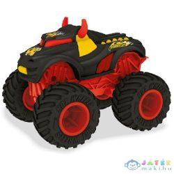 Hot Wheels Monster Truck Beatz Mode Rev Tredz Hátrahúzós Autó Hanggal És Fénnyel - Mondo Motors (Mondo, 51227)
