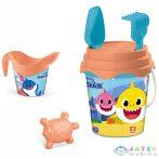 Baby Shark 6 Részes Homokozó Készlet (Mondo Toys, 28643)