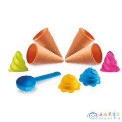 Fagylaltos Homokozó Szett Hálóban 9Db-os (Mondo Toys, 9135)