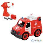 Rc Szerelhető Tűzoltó Rohamkocsi Távirányítós Autó 2,4Ghz - Mondo Motors (Mondo Toys, 63627/roham)
