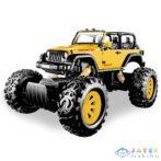 Stunt Truck Sárga Hátrahúzós Kisautó 1/43 - Mondo Motors (Mondo Toys, 53215/sárga)
