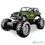 Stunt Truck Zöld Hátrahúzós Kisautó 1/43 - Mondo Motors (Mondo Toys, 53215/terep)