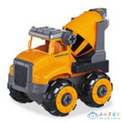 Szerelhető Betonkeverő Kocsi Csavarhúzóval 15Cm - Mondo Motors (Mondo Toys, 51177/mixer)