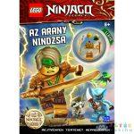 Lego Ninjago: Az Arany Nindzsa - Foglalkoztatókönyv Lloyd Minifigurájával (Móra, MO4164)
