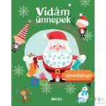 Vidám Ünnepek - Színezőkönyv (Móra, MO4124)