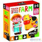 2 Részes Formapuzzle - Farm (Muffik, MU24889)