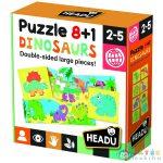 8+1 Kétoldalas Puzzle - Dinoszauruszok (Muffik, IT22243)