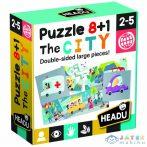 8+1 Kétoldalas Puzzle - Városka (Muffik, IT20508)