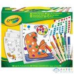 Crayola: Mókás Matricázó Szett (Muffik, 04-6801)