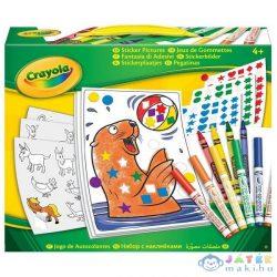 Crayola: Mókás Matricázó Szett (Crayola, 04-6801)