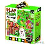 Logikai Illesztőjáték - Farm (Muffik, MU23608)