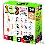 Logikai Puzzle Illesztőjáték - Számok (Muffik, IT21093)