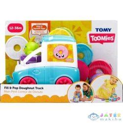 Tomy Toomies: Vidám Fánkoskocsi Foglalkoztató - Kék (Muffik, E73095)