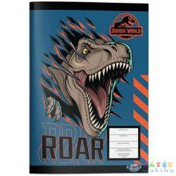 Must... Jurassic World Vonalas Füzet Színezővel 40 Lapos Kétféle Változatban (Multiprint, 570774)