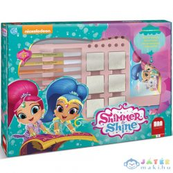 Shimmer És Shine 7Db-os Nyomda És 12Db Filctoll (Multiprint, 49499)