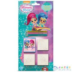 Shimmer És Shine Lányos 3Db-os Nyomda Szett (Multiprint, 39490)
