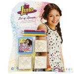 Soy Luna 3Db-os Nyomdaszett 3Db Színes Ceruzával (Multiprint, 119444)