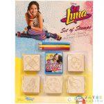 Soy Luna 5Db-os Nyomdaszett Színes Ceruzával (Multiprint, 59443)