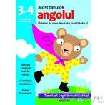 Most Tanulok... Angolul 3-4 Éveseknek Készségfejlesztő Matricás Füzet (Napraforgó, 458593)
