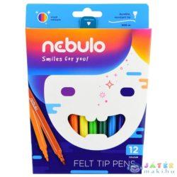 Nebulo: Filctoll Színes 12Db-os Szett (Nebulo, NFT-1-12)