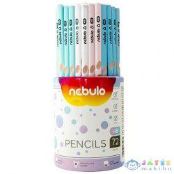 Nebulo: Grafit Ceruza Háromszög Alakú Hb Többféle Változatban 1Db (Nebulo, GC-72-HB-TR)