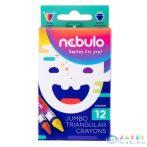 Nebulo: Jumbo Színes Zsírkréta Szett 12Db-os (Nebulo, NJZSK-TR-12)