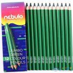 Nebulo: Jumbo Zöld Színű Ceruza 1Db (Nebulo, JZC-TR-1)